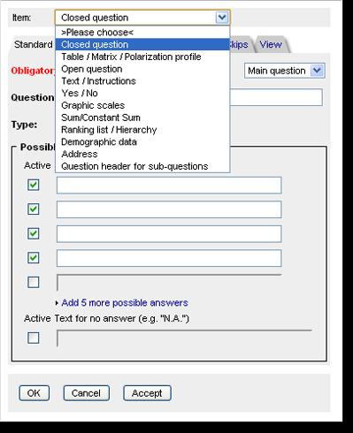 survey answer generator
